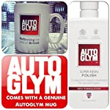 Autoglym Ultimate Car Valeting Treatment Super Resin Polish 1Litre + Genuine Mug Cup (NEW FORMULA)