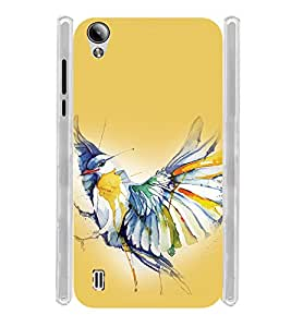 GADGET LOOKS PRINTED BACK COVER FOR Vivo Y15 MULTICOLOUR