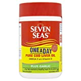 Seven Seas One A Day Pure Cod Liver Oil Plus Garlic 30 Capsules