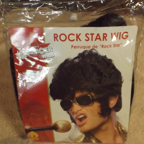 Deluxe Rock Star Costume Wig