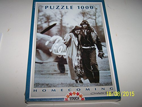 Homecoming Cristopher Bissell Pilot Aviator(blues Series) Puzzle 1000 Pieces