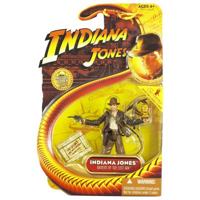 Picture of Hasbro Indiana Jones Action Figure: Raiders of the Lost Ark (B001285L7Q) (Hasbro Action Figures)