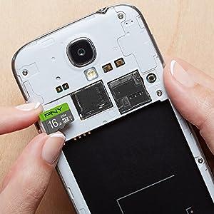 PNY 16GB Elite Class 10 U1 microSDHC Flash Memory Card 20-Pack (Tamaño: 16GB 20-PACK)
