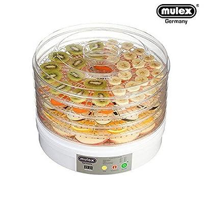 MULEX FD-770A Food Dehydrator Dryer - 5 Tray, 220V, 60Hz, White