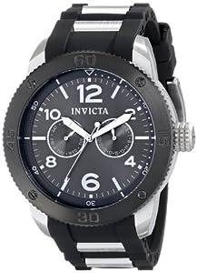 Invicta Men's 15809 Specialty Analog Display Swiss Quartz Black Watch