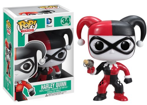 Funko POP Heroes: Harley Quinn Action Figure