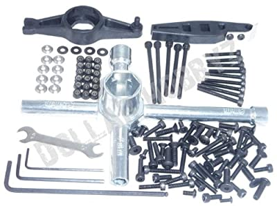 Associated RC8.2e Factory Team *100+ SCREW & TOOL KIT* 17mm T-Wrench Nuts Washer