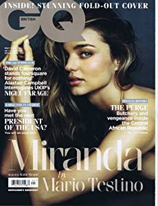 GQ [UK] May 2014 (単号)
