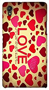 Stunning multicolor printed protective REBEL mobile back cover for Sony Xperia Z1 C6902/L39h D.No.N-L-14833-S39