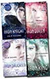 Julie Kagawa The Iron Fey Series Julie Kagawa Collection 4 Books Set Pack (The Iron Knight, The Iron King, The Iron Daughter, The Iron Queen) (Iron Fey)
