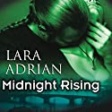 Midnight Rising : The Midnight Breed, Book 4 Audiobook by Lara Adrian Narrated by Hillary Huber