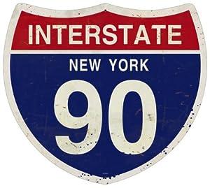 Amazon.com - New York Interstate 90 Street Signs Custom