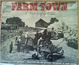 Farm town: a memoir of the 1930's, McManigal, J. W