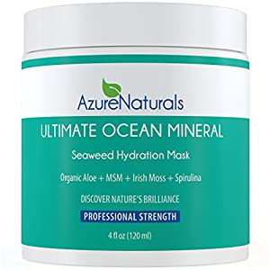 ULTIMATE Seaweed Hydration Mask with over 90 powerful Oceanic Minerals, micro minerals, vitamins and vital nutrients help repair, rejuvenate and deeply nourish your skin, giving it a healthier, more youthful glow. This amazing mask is a proud part of our