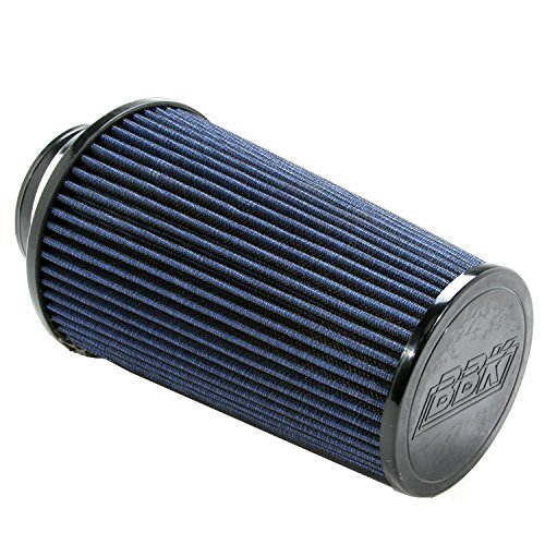 BBK 1742 BBK Cold Air Intake Replacement High Flow Washable Air Filter - Blue