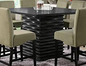 Coaster Stanton Casual Dining Room Set With Dining Table And 8 X