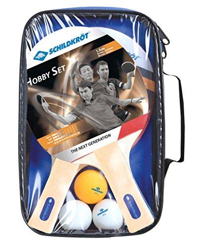 Donic-Schildkröt Hobby Tennis Tavolo Confezione per 2 Giocatori con Borsa Inclusa, Multicolore