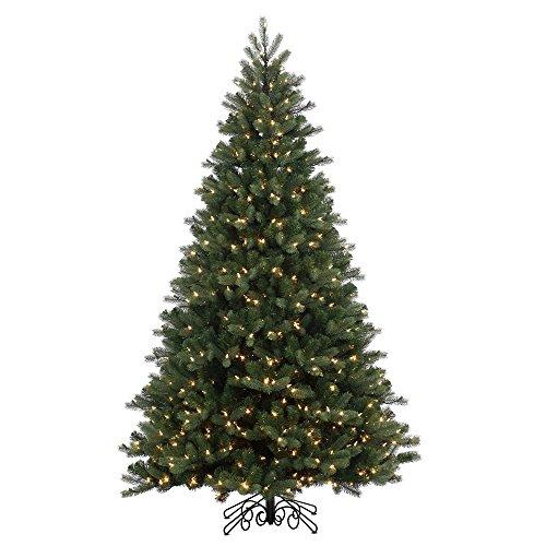 10-Pre-Lit-Noble-Pine-Instant-Shape-Artificial-Christmas-Tree-Wm-Wht-LED-Lights