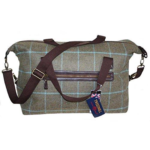 Quality-Large-Tweed-Weekender-Woven-Bag-Shoulder-Strap-by-Tweedmill-Textiles