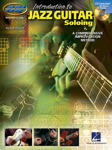 An Introduction to Jazz Guitar Soloing BK CD Introduction to Book and CD