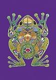 Toland Home Garden 109609 Animal Spirits-Frog House Flag