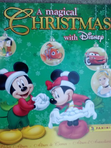 A Magical Christmas with Disney Sticker Album (Stickers Sold Separately) - 1