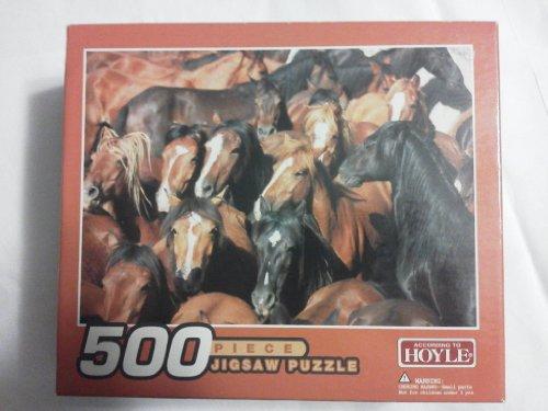 Hoyle Horse Puzzle: 500 Piece Jigsaw