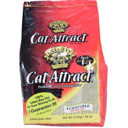 Precious Cat Cat Attract Problem Cat Training Litter, 20 pound bag