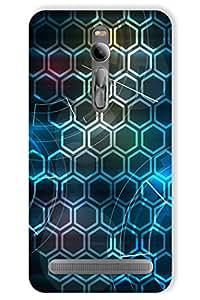 IndiaRangDe Hard Back Cover FOR Asus ZenFone 2
