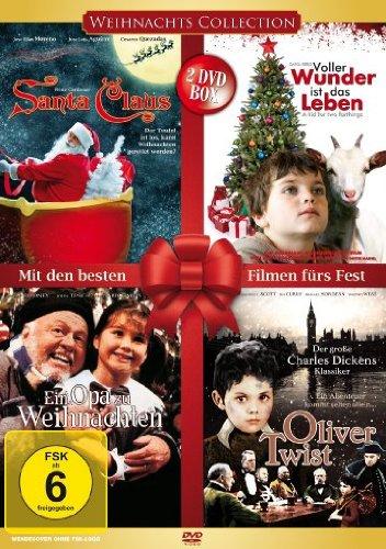 Weihnachtscollection - Mit den schönsten Filmen fürs Fest [2 DVDs]