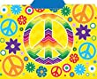 Peace Symbols File Folders