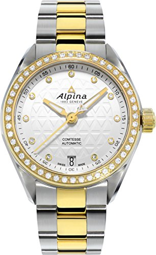 Alpina Geneve Comtesse Automatic Women's Automatic Watch with Genuine Diamonds