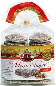 Wicklein Meister Singer Oblaten Lebkuchen - Sugar Glazed