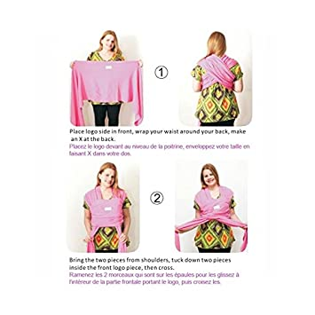 BEBEMOOI - Echarpe de portage - porte bébé coton naturel !!! New -  xcvbgfdh3 fba85326890