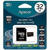 Apacer アペイサー AP32GMCSH10U1-J microSDHC UHS-I Class10 32GB 国内代理店3年保証品