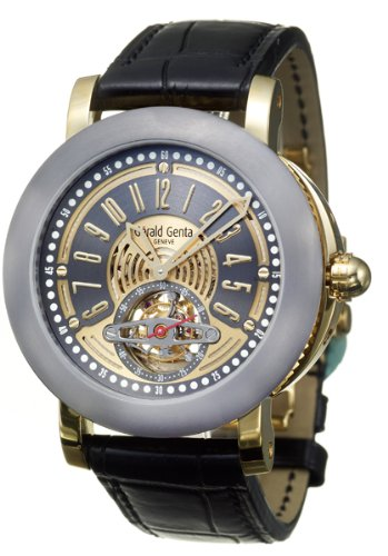Gerald Genta Arena Tourbillon Men's Automatic Watch ATR-Y-22-903-CN-BD