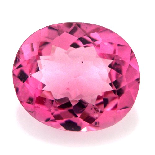 Natural Africa Nice Pink Tourmaline Loose Gemstone Oval Cut 6*5mm 0.75cts Amazin