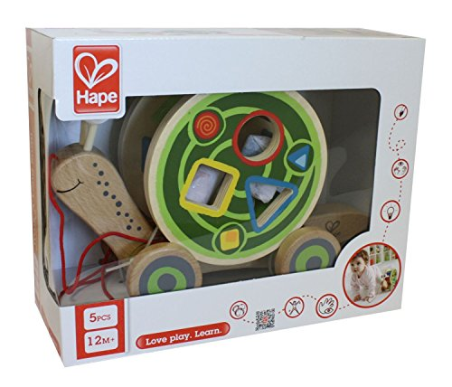 Hape – Walk-A-Long Snail Toy