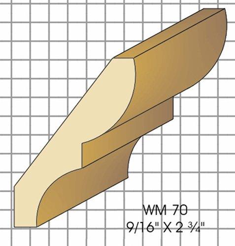 Wm70 Crown Top Knife Fits Woodmaster/Belsaw/Powermatic/Jet