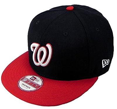New Era Snapback MLB Washington Nationals Link 2tone Hat Cap Men 9fifty