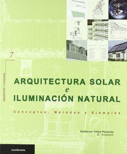 ARQUITECTURA SOLAR E ILUMINACION NATURAL
