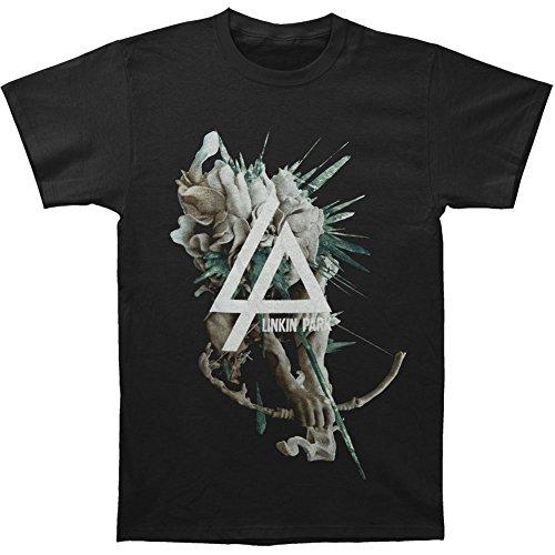 Arnoldo Blacksjd Linkin Park Men's Smoking Arc T-shirt Black Large
