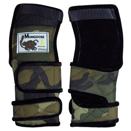 Mongoose Lifter Camouflage Wrist Support- Right Hand (Small) (Mongoose Lifter compare prices)