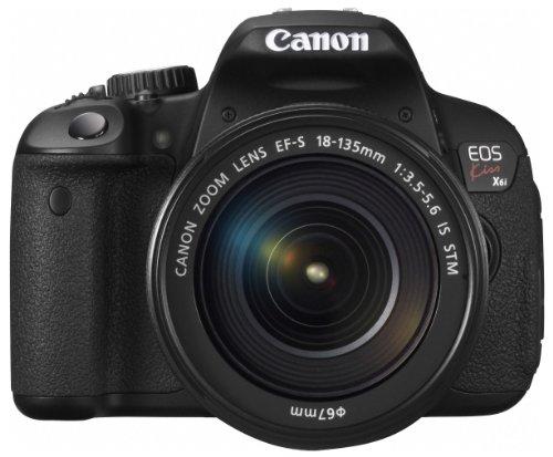 Canon デジタル一眼レフカメラ EOS Kiss X6i レンズキット EF-S18-135mm F3.5-5.6 IS STM付属 KISSX6i-18135ISSTMLK