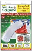 Debbie Meyer GeniusVac Vacuum Bag Sealer Vacuum Seal Food Storage System