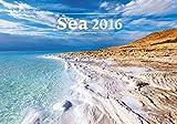 Sea Wall Calendar 2016 - Ocean Calendar - Poster Calendar - Beach View Calendar By Helma