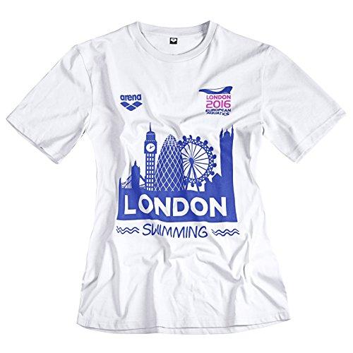 Arena da uomo da allenamento Sport T Shirt, White, 2XL