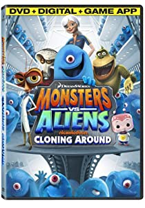 Monsters Vs Aliens: Cloning Around