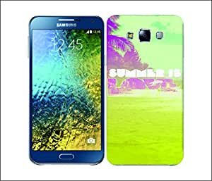 Galaxy Printed 2902 Summer Snapshot Love Hard Cover for Samsung GRAND I9082