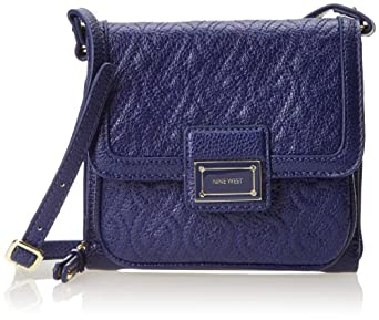 Nine West Quilslg B SF Cross Body Bag,Ultramarine,One Size